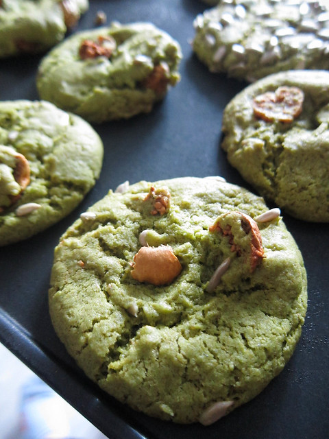 Green Tea Cookies for St. Patty's Day