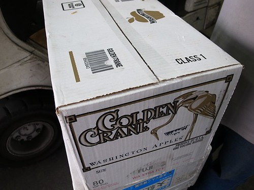 美國富士蘋果 80顆裝箱 4131 約19公斤