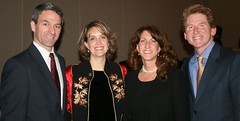 Rose dinner: Ken and Teiro Cuccinelli  and Maria and Robert Dolan