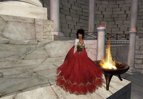 The White Armory Starfire Gown Group Gift by Cherokeeh Asteria