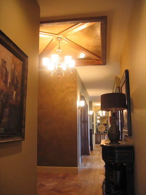 Foyer Plaster Ceiling : Entryway italian venetian plaster finishes