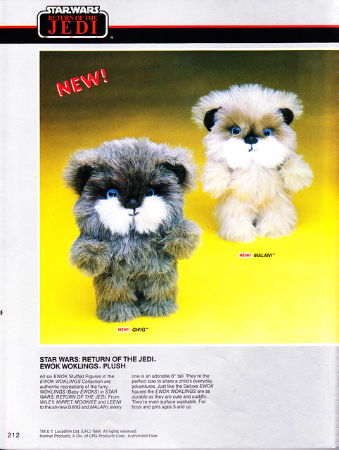 Ewoks / Star Wars (Kenner) 1985 6985632011_160b97cb5c_z