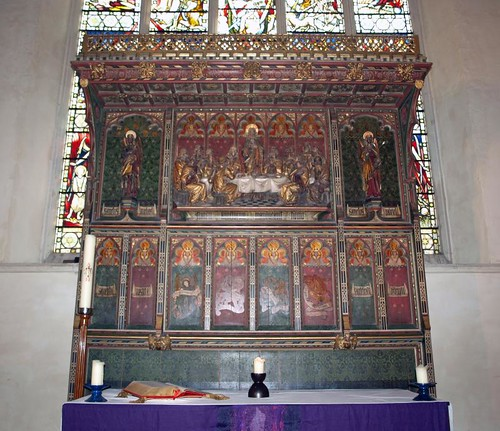 South chapel reredos