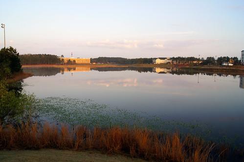 morning nature water sunrise landscape