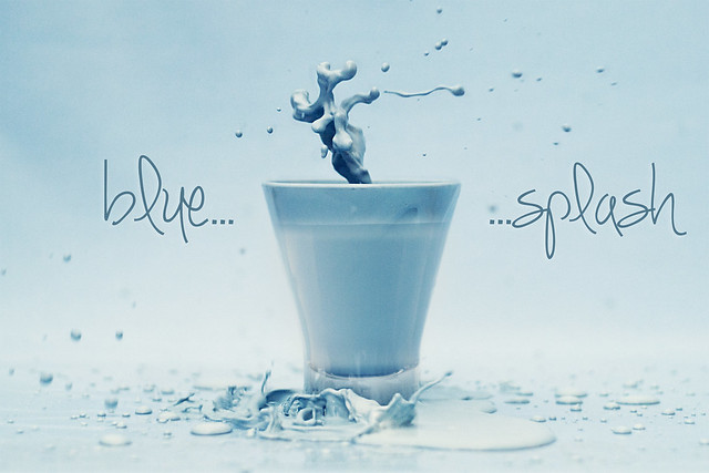 Blue blue splash!!!