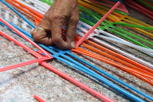 Plastic Straw Weaver At Bencab Museum Kaladkaring Paa