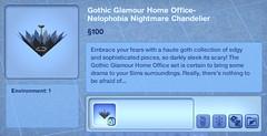 Nelophobia Nightmare Chandelier