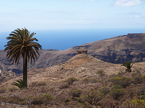 Roque Del Sombrero, La Gomera, Canary Islands