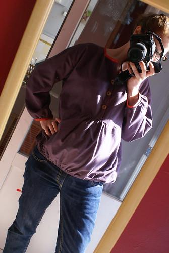 blouse grossesse/allaitement - portée !
