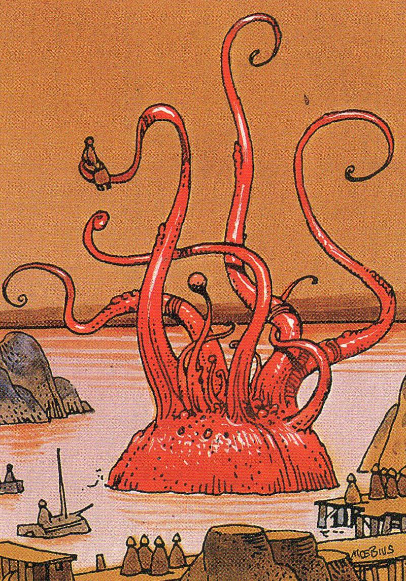 Moebius - Trading Card 67. BALUTIN