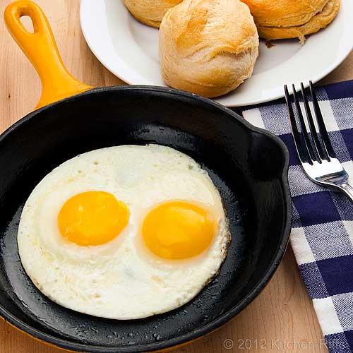 Kitchen Riffs Fried Eggs