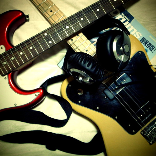 sound of guitar