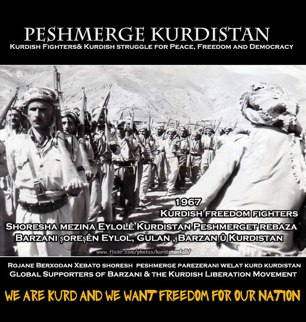 Barzani the Kurdish Liberation Movement