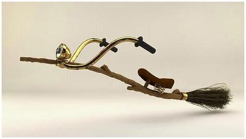 The Easter turbo broom...