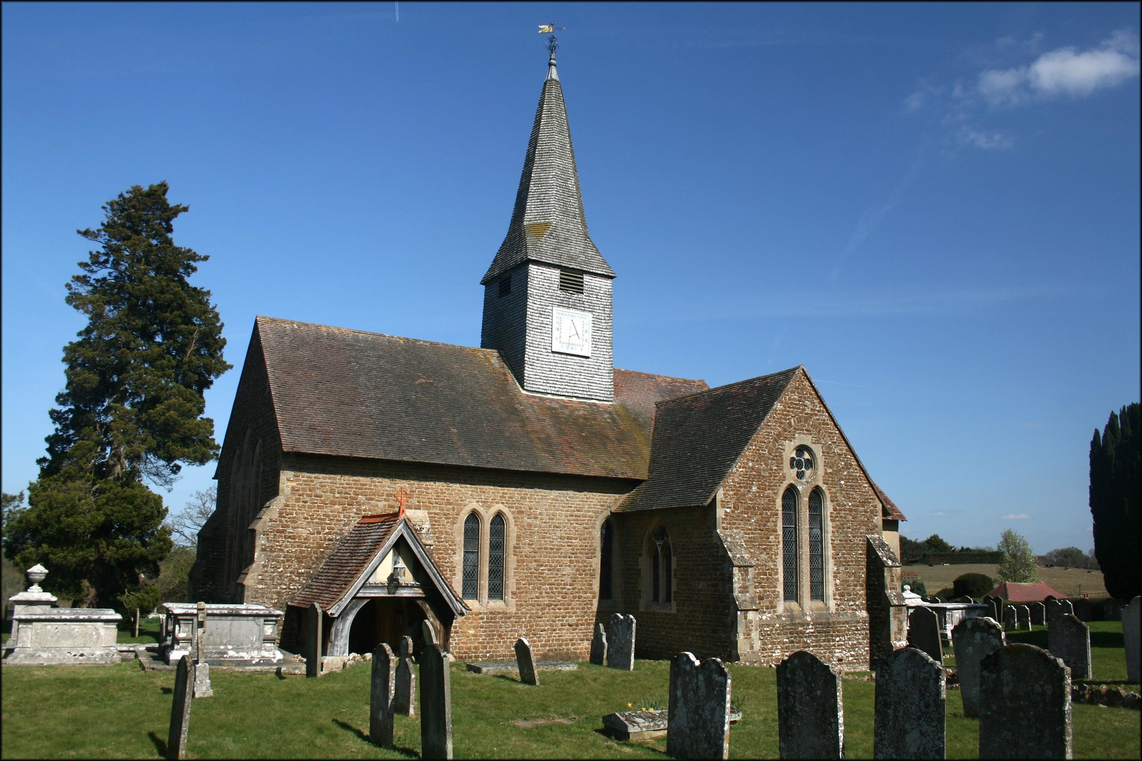 St Michael and All Angels church, Thursley