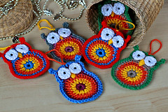 Crochet Owls - Pattern