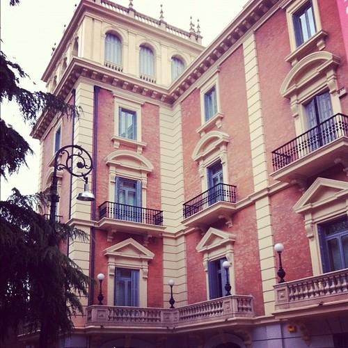 El palacete donde se encuentra el Museo Lázaro Galdiano es impresionante :)