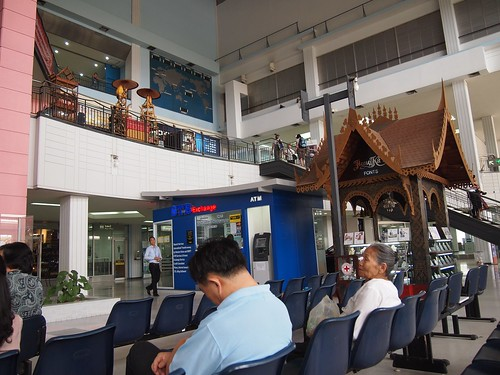 ワットタイ国際空港の中