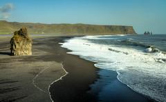 Black Sand at Dyrhólaey (Explored)