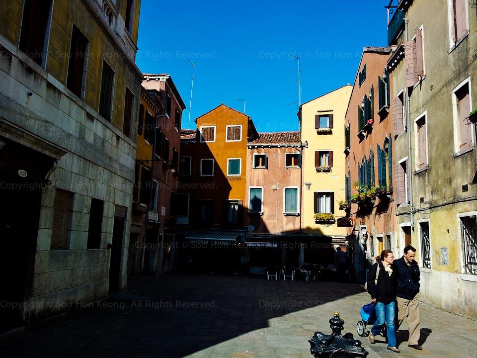Venice Shadows @ Venice, Italy