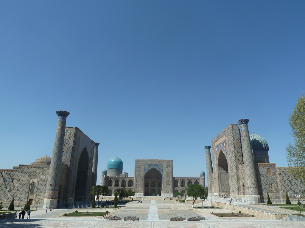 Plaça del Registan, Samarcanda (Uzbekistan)