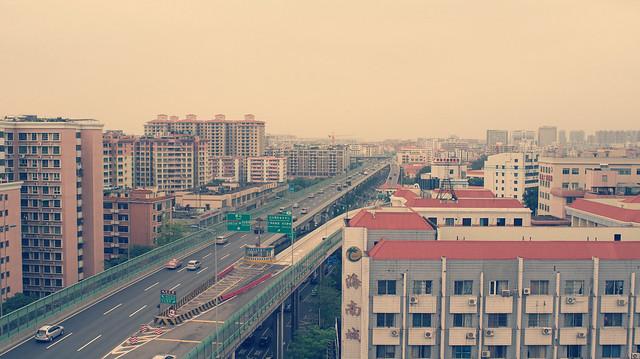机场高速 @公司屋顶