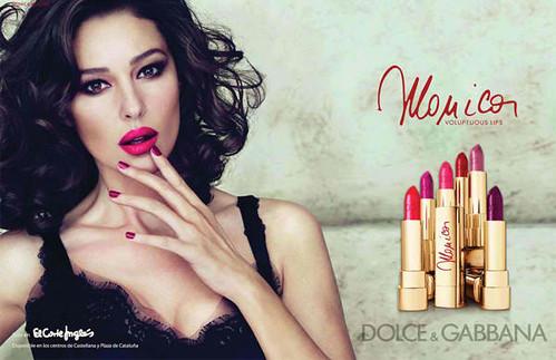 Dolce-Gabbana-Monica-Lipstick-Collection-Summer-2012-Ad-Campaign