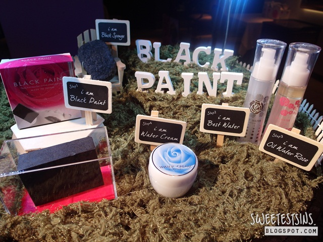 black paint singapore media launch