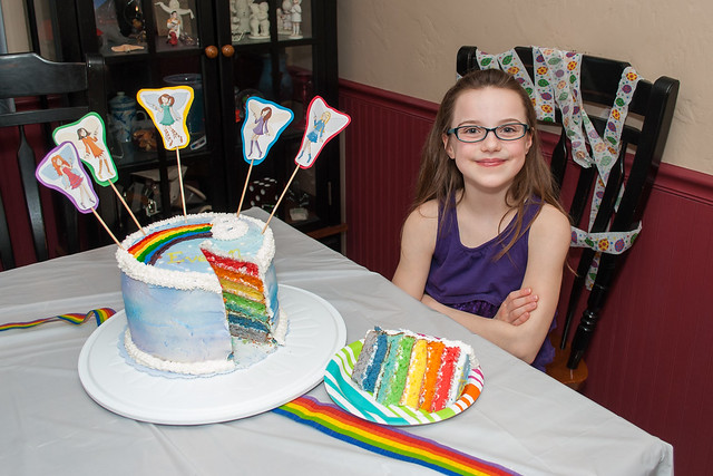 Eighth Birthday Cake