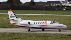 SE-RIK Cessna 550 Citation II on 21 March 2014