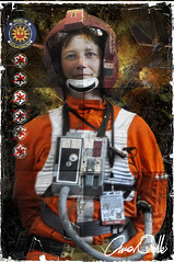Female X wing pilot