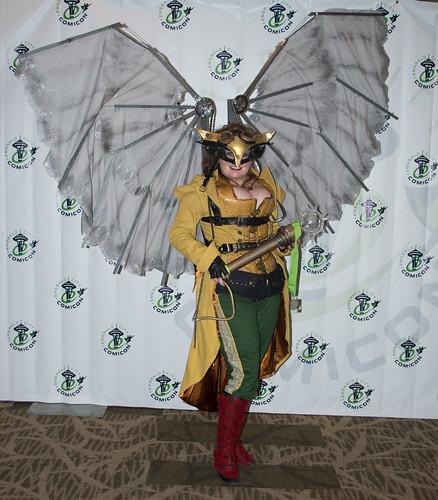 Steampunk Hawkgirl