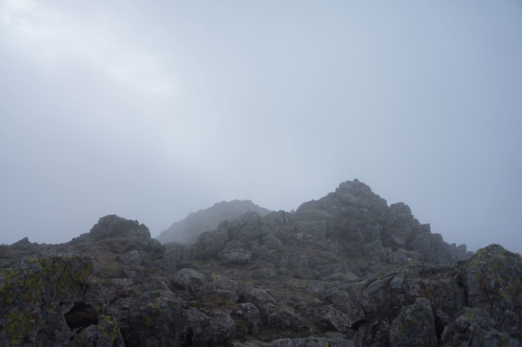 Sca Fell in the mist