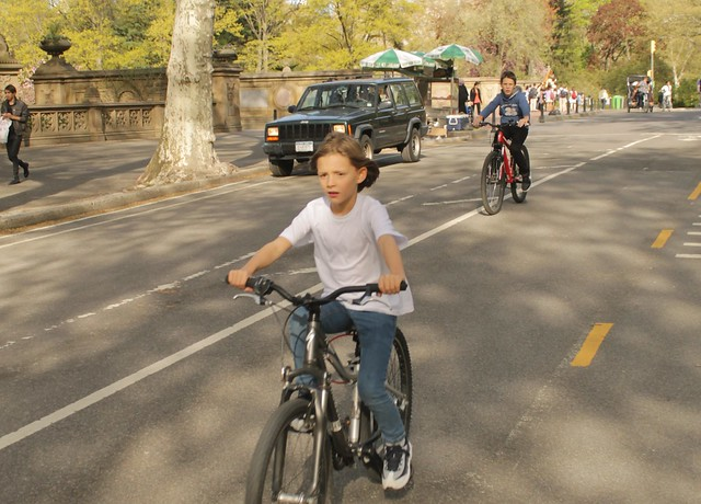 Kids. Free. Should be like this everywhere. And why are cars still allowed in Central Park?
