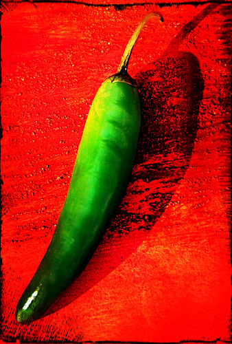 serrano chile in Pixlromatic