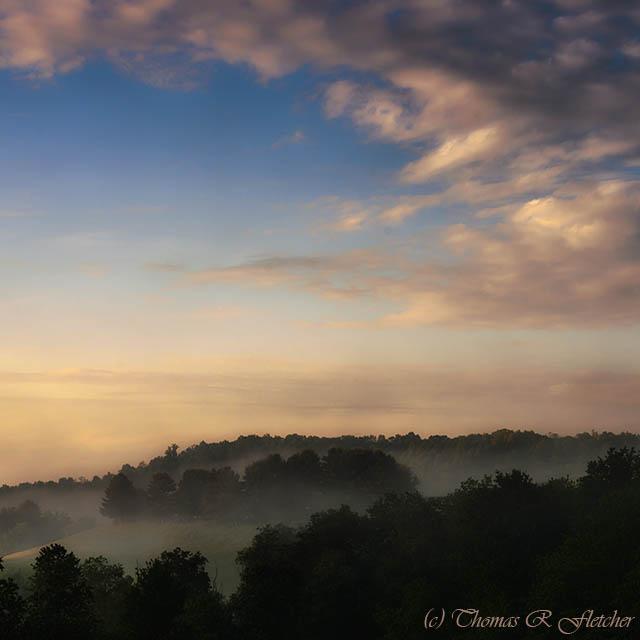 Dawn in West Virginia