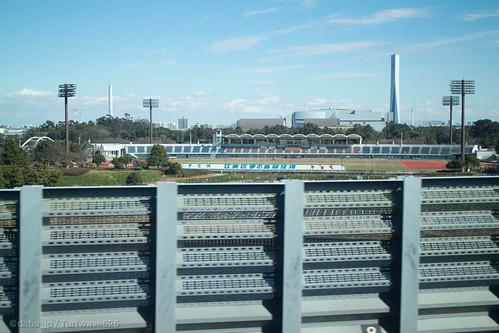 20160207 夢の島陸上競技場 / Yumenoshima Stadium