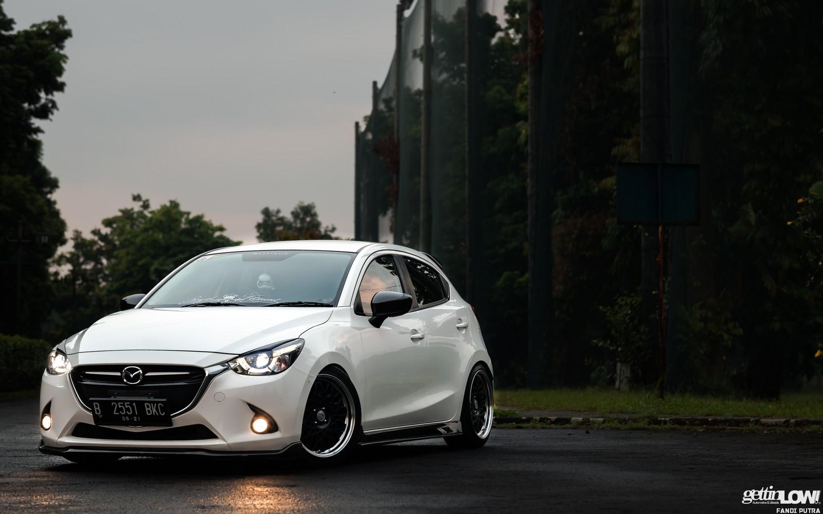 All New Mazda2 White
