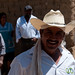 Mexican Man in Cowboy Hat - San Martin Tilcajete, Mexico