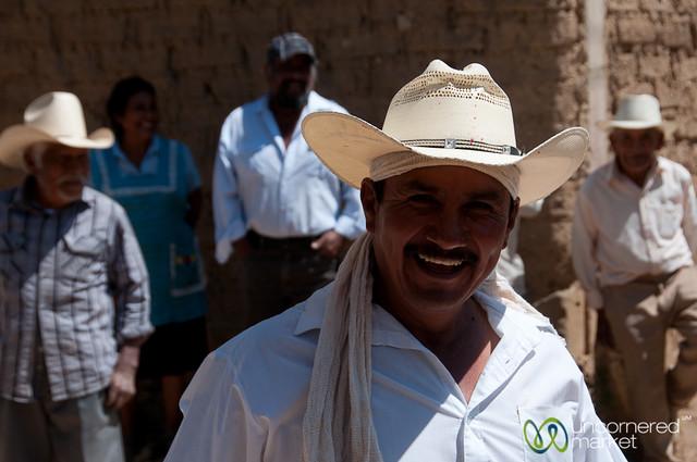 Mexican Man in Cowboy Hat - San Martin Tilcajete, Mexico
