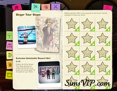 Send Sims Singer - Reward
