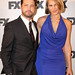 Jason Priestley and  Naomi Lowde-Priestley
