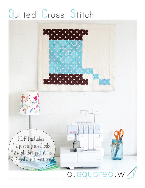 quilted cross stitch pattern cover