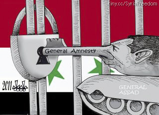 Assad poking - General Amnesty