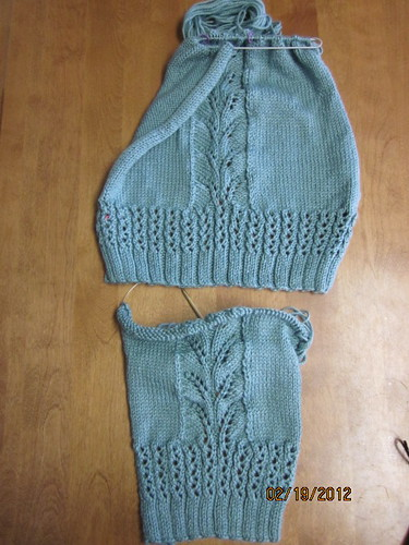 Trilo Cardigan Progress by Pointe Shoes Punk Rock And Purl Pix