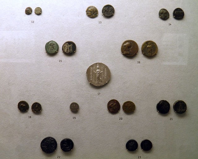 Alexander the Great and his successors coinage, Pergamon: Panorama of the Ancient City Exhibition, Pergamon Museum, Berlin