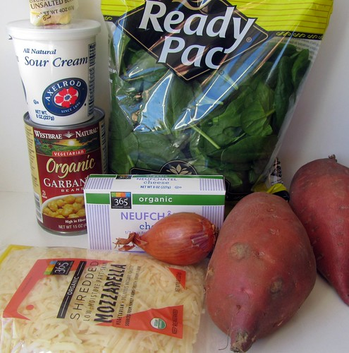 Stuffed Sweet Potatoes Ingredients