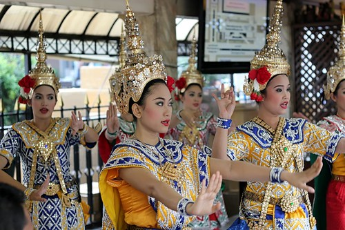 Thai Dancers at Erawan Shrine | Bangkok