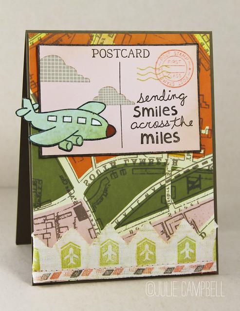 Sending Smiles Postcard