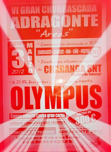 Paderne 2012 - Churrascada de Adragonte - cartel